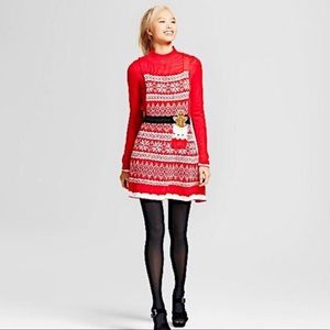 Xhilaration Christmas Ugly Sweater Dress